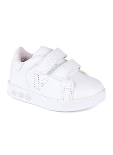 Vicco  313.E19K.100 Oyo Işıklı Kız/Erkek Çocuk Spor Ayakkabı Beyaz